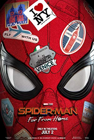 movie poster of Spider-Man: lejos de casa