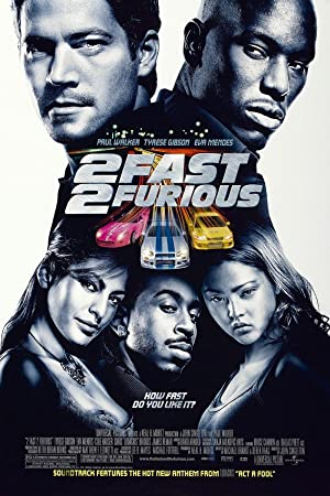 movie poster of 2 Fast 2 Furious: A todo gas 2