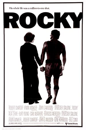 movie poster of Rocky