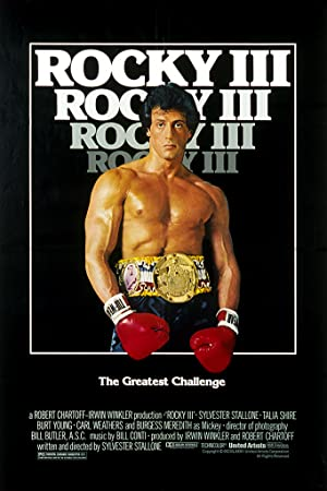 movie poster of Rocky III
