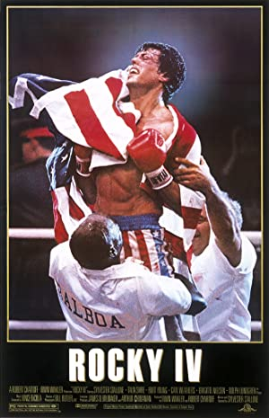 movie poster of Rocky IV