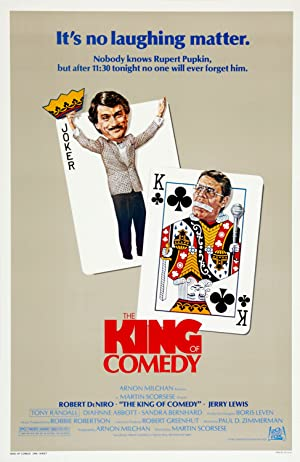 The King of Comedy streaming (where to watch online?)