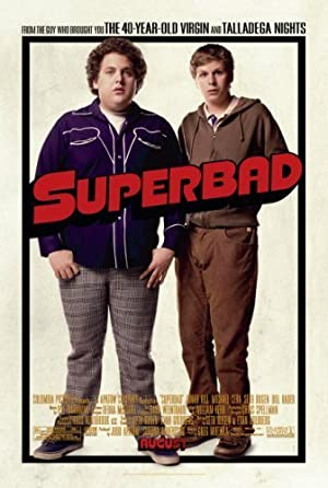movie poster of Superbad