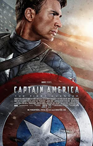 movie poster of Captain America: The First Avenger