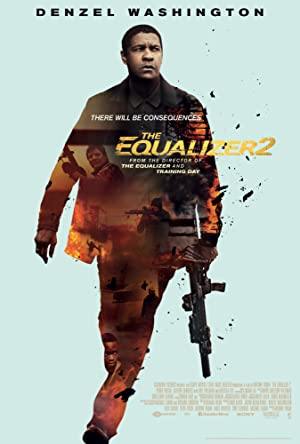 movie poster of The Equalizer 2