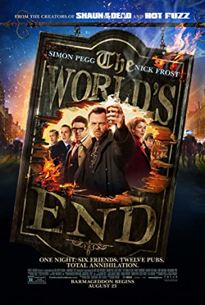 movie poster of The World's End streaming (where to watch online?)