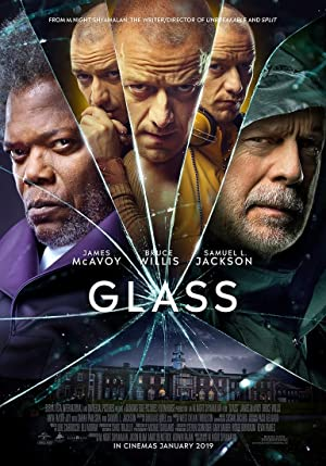 movie poster of Glass