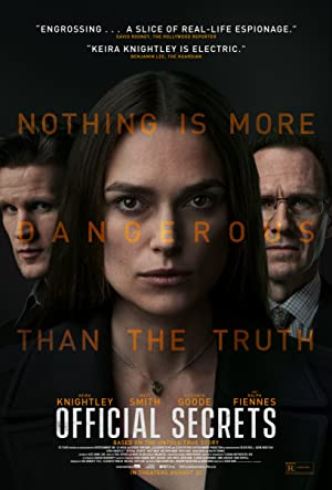 movie poster of Official Secrets