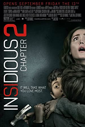 movie poster of Insidious: Chapter 2