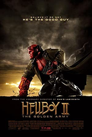 movie poster of Hellboy II: Les Légions d'or maudites