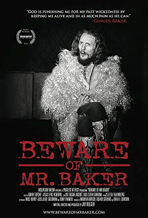 movie poster of Beware of Mr. Baker