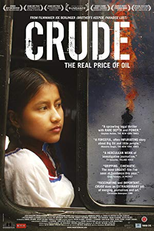 movie poster of Crude