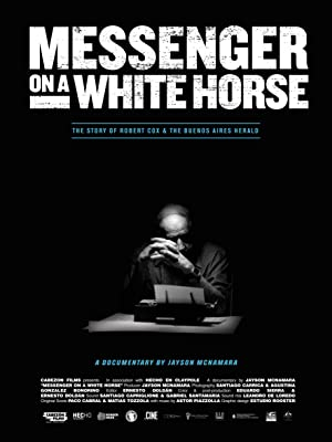 movie poster of Messenger on a White Horse