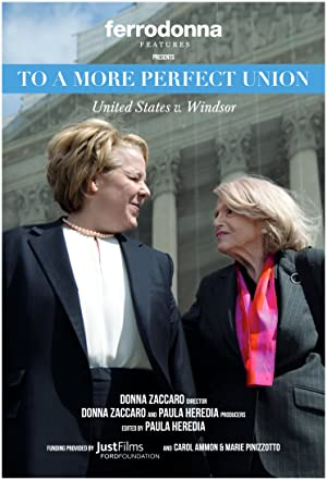 movie poster of To a More Perfect Union: U.S. v Windsor