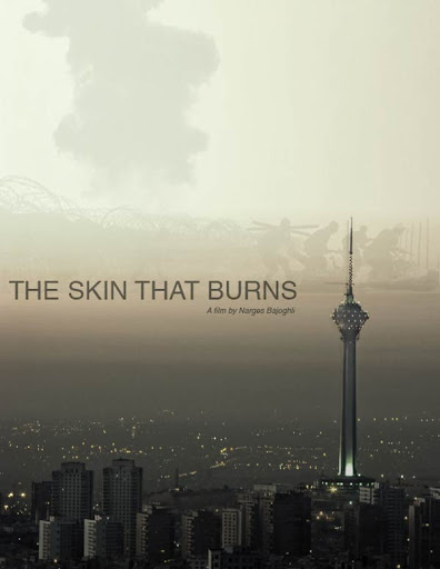 movie poster of The Skin That Burns