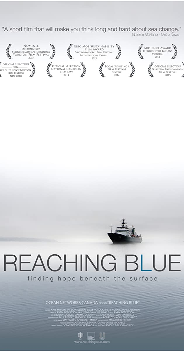 movie poster of Reaching Blue: Finding Hope Beneath the Surface