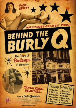 movie poster of Behind the Burly Q