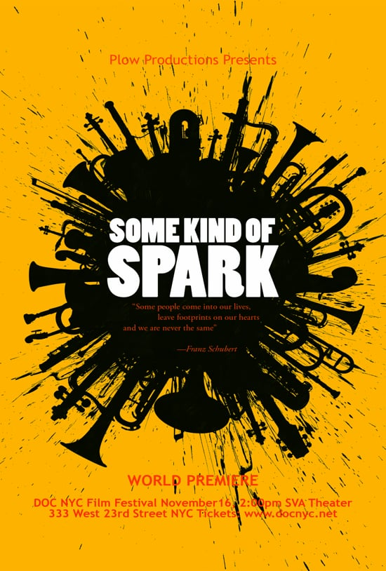 movie poster of Some Kind of Spark