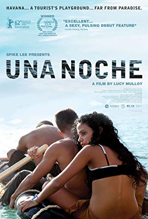 movie poster of Una noche