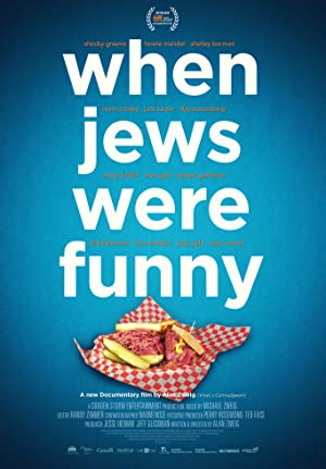 movie poster of When Jews Were Funny