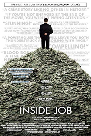 movie poster of Inside Job