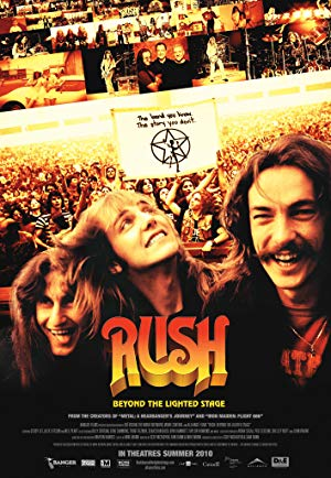 movie poster of Rush: Beyond the Lighted Stage