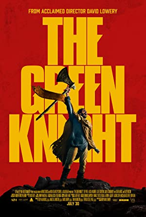 movie poster of The Green Knight streaming (where to watch online?)