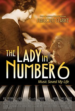 movie poster of The Lady in Number 6: Music Saved My Life