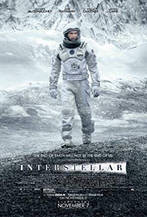movie poster of Interstellar
