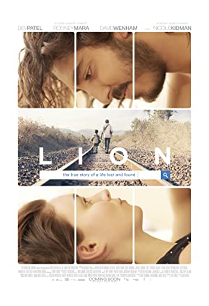 movie poster of Lion