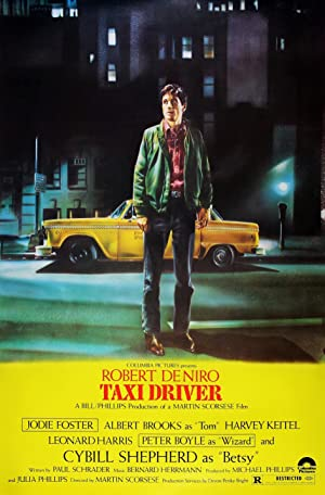 movie poster of Taxi Driver streaming (where to watch online?)