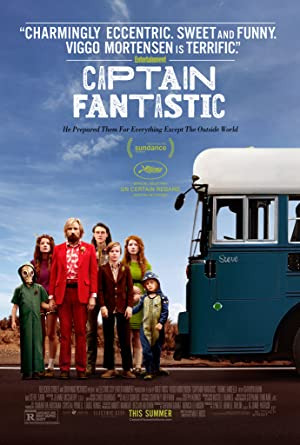 movie poster of Captain Fantastic
