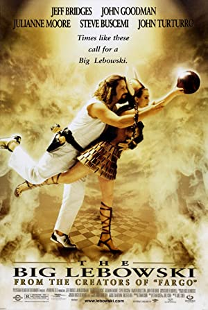 movie poster of The Big Lebowski streaming (where to watch online?)