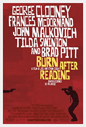 movie poster of Burn After Reading