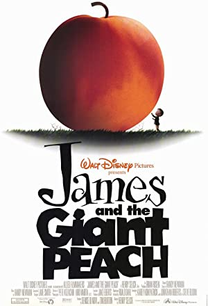 movie poster of James and the Giant Peach streaming (where to watch online?)