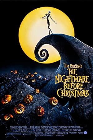 movie poster of The Nightmare Before Christmas streaming (where to watch online?)