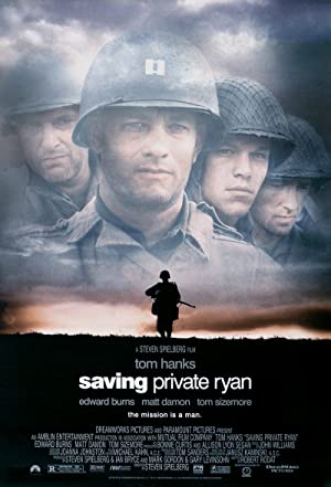 movie poster of Saving Private Ryan streaming (where to watch online?)