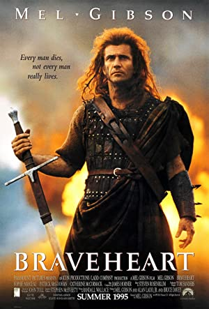 movie poster of Braveheart streaming (where to watch online?)