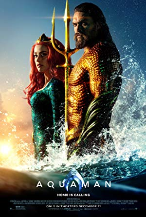 movie poster of Aquaman