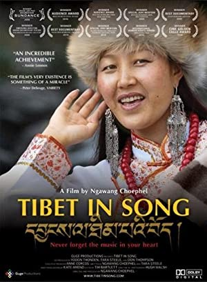 movie poster of Tibet in Song