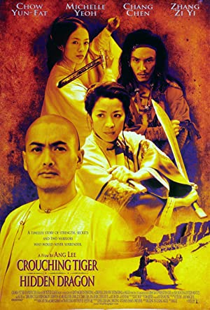Crouching Tiger, Hidden Dragon streaming (where to watch online?)