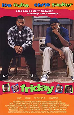 movie poster of Friday