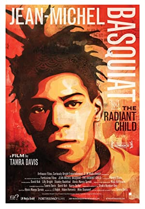 movie poster of Jean-Michel Basquiat: The Radiant Child