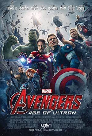 movie poster of Avengers: Age of Ultron