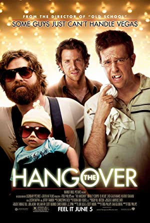 movie poster of The Hangover