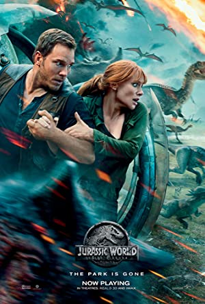 movie poster of Jurassic World: Fallen Kingdom