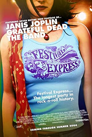 movie poster of Festival Express