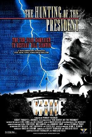 movie poster of The Hunting of the President