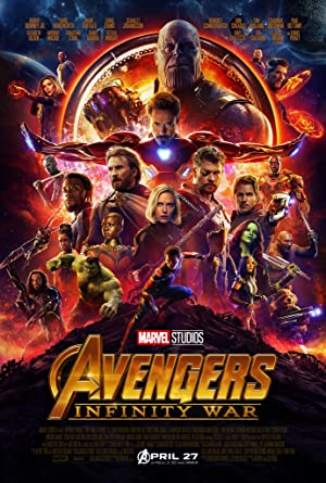 movie poster of Avengers: Infinity War