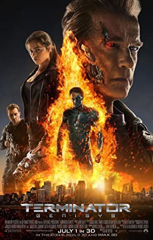 movie poster of Terminator Genisys